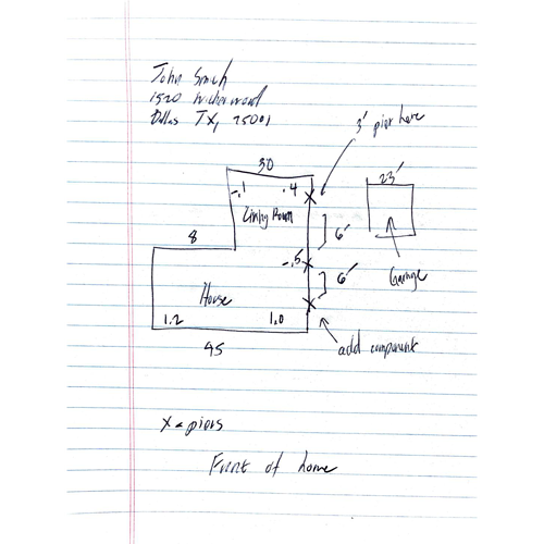 Hand-drawn site plans are outdated and messy
